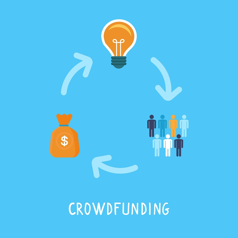 stock-illustration-45945144-vector-crowdfunding-concept-in-flat-style